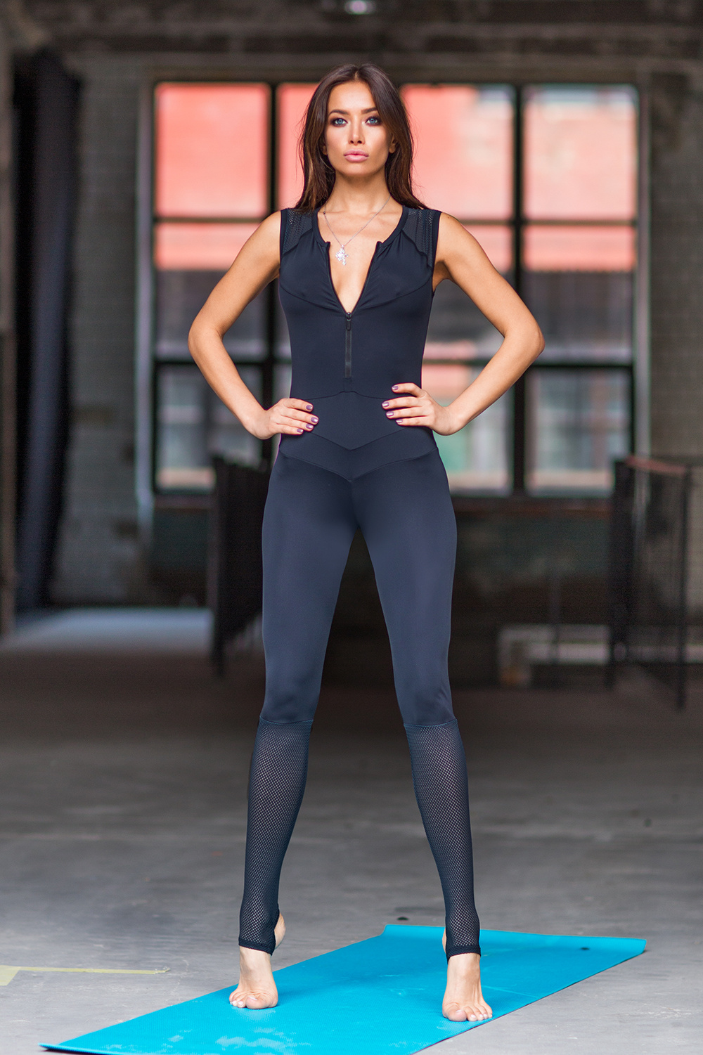 Комбинезон DF Yoga Total Black